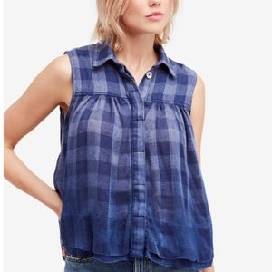 Free People Hey There Sunrise Sleevless Top